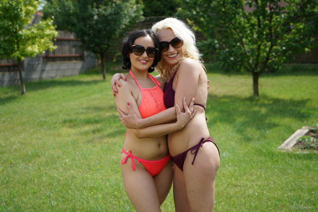 Szandi, Yasmeena - My Boyfriend's Hot Mom - Old Young Lesbian Love videos