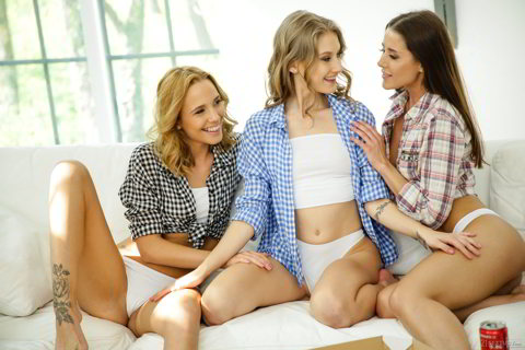 Tiffany Tatum, Sybil, Poppy Pleasure - The Way Girls Play - 21sextury.com HD video