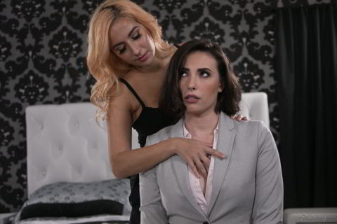 April ONeil, Casey Calvert - The Real Estate Agent - girlsway.com discount