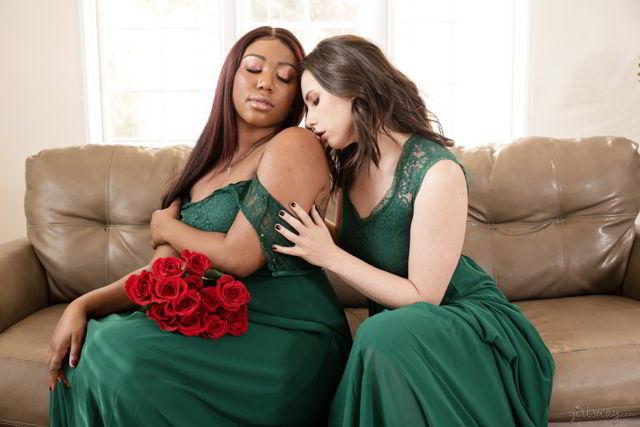 Casey Calvert, Chanell Heart - Role Models: Always A Bridesmaid - girlsway video