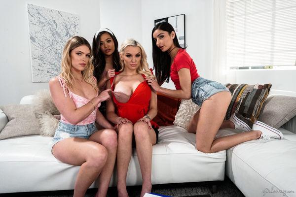 Kenzie Taylor, Emily Willis, Vina Sky, Leah Lee - Cougariffic: Sugar Sponsor