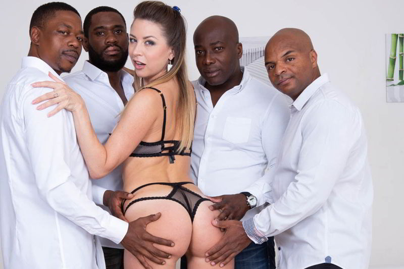 Paulina Soul debuts in interracial gangbang - private.com porn discount