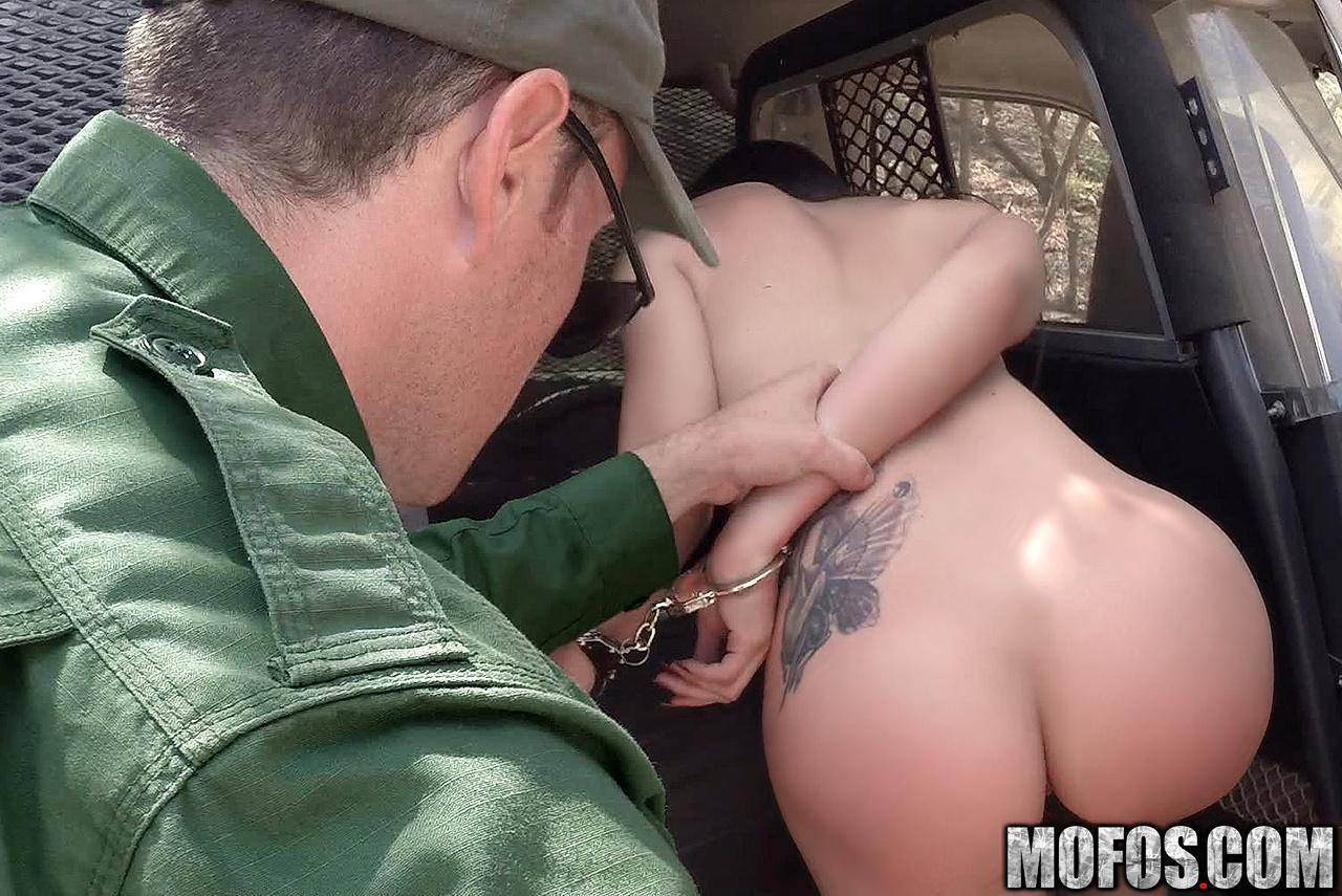 Boarder patrol sex and brazilian cop slim