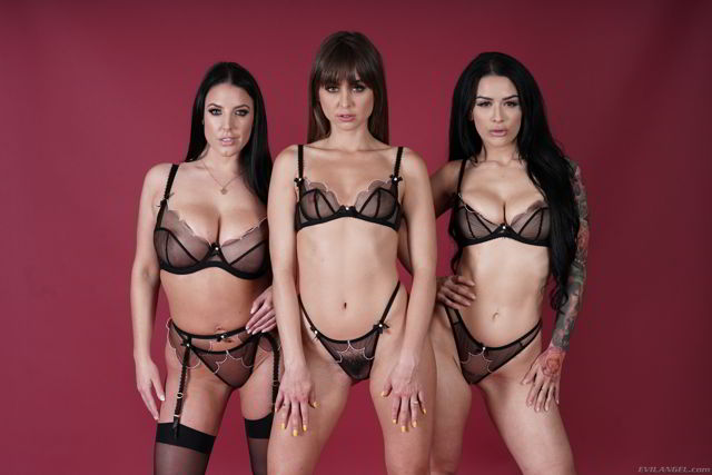 Riley Reid, Katrina Jade, Angela White - I Am Riley Episode Three - Evil Angel Porn Videos