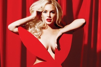 Lindsay Lohan Playboy nude pictures