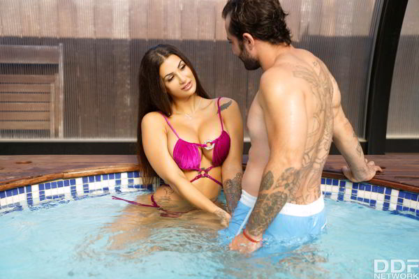 Susy Gala - Spanish Babe Pounded in Her Bikini - DDFNetwork HD video