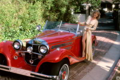 Terry Moore - The Merriest Widow - Playboy 1984 magazine
