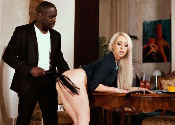 Christina Shine - Mr Black - hustler.com HD video