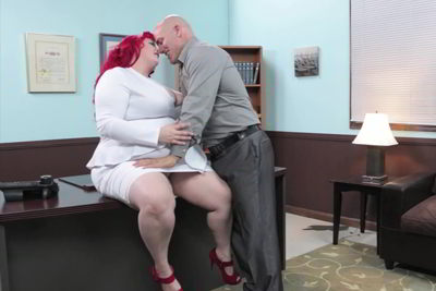 Eliza Allure - BBW Bosses - hustler sexually explicit video