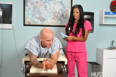 Sadie Santana - Anal Nurses - hustler password discount