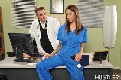 Stassi Sinclair - Anal Nurses - hustler exclusive anal porn movie