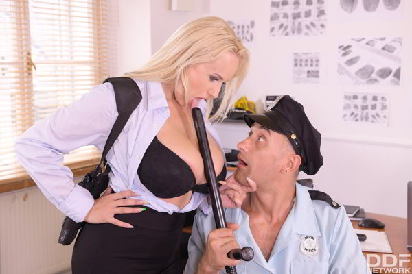 Angel Wicky - Busty Blonde Orders BBC - DDFBusty deal