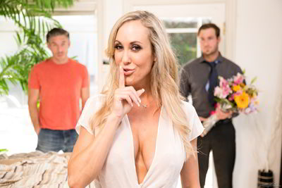 Brandi Love - Two Men, One Wife - prettydirty scandalous video