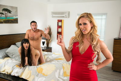 Cherie DeVille, Mercedes Carrera - The One Night Stand: Part Three