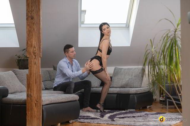 Lady Dee - Flexible siren seduces in fishnets - Dane Jones HD video