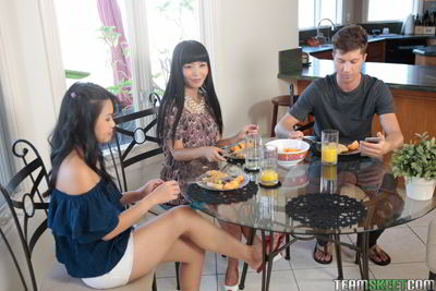 Cindy Starfall and Marica Hase - Bad and Breakfast - Mother daughter porn movie