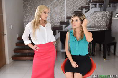 Adriana Sephora and Christie Stevens - Disrespecting Her Body - 720p online