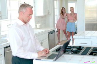 Dolly Leigh And Riley Nixon: Fatherly Alterations - DaughterSwap HD stream