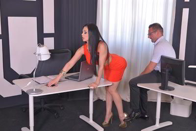Aletta Ocean'S Big Boobs Fucked By Her Horny Colleague - bustylover HD movie