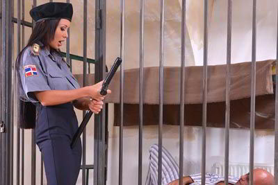Huge Boobs Guard Patty Michova Fucks An Inmate For Fun - bustylover promo code