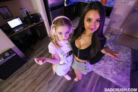 Eliza Ibarra , Anastasia Knight - Sharing Cock Is Caring - DadCrush HD video