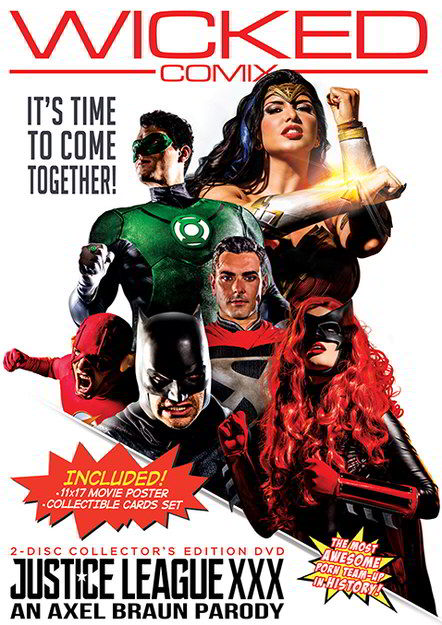 Justice League XXX An Axel Braun Parody - wicked exclusive content