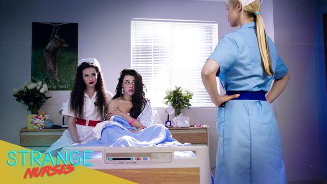 Casey Calvert, Sarah Vandella, Whitney Wright, Ryan Keely - Girlcore | S1 E5 | Strange Nurses - Girlcore Ultra HD video