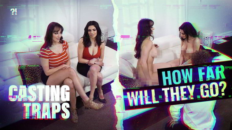 Darcie Dolce, Lexi Luna - Casting Traps: Girl On Girl - Is This Real?